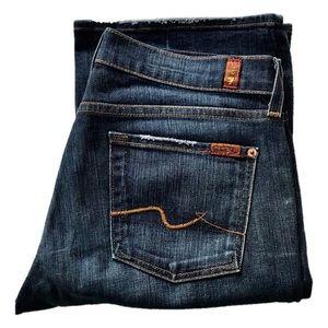 "7FAM Jeans | "" Long Riding "" Distressed Denim"